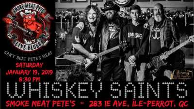 Whiskey Saints - Smoke Meat Pete's