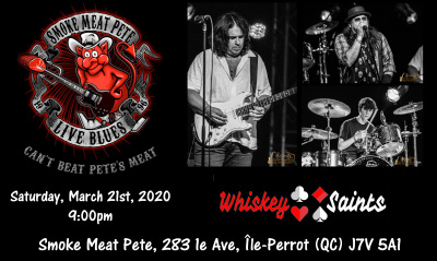 Whiskey Saints LIVE at Smoke Meat Pete's